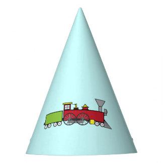Train Happy Birthday Party Hat