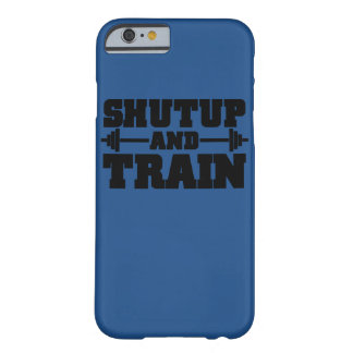Train hard iPhone 6 cover