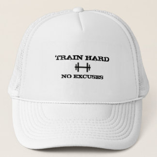 Train Hard No Excuses Hat