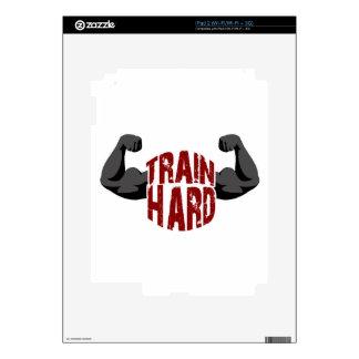 Train hard skins for iPad 2