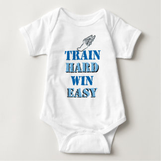 Train hard  Win Easy - Track and Field T Shirt