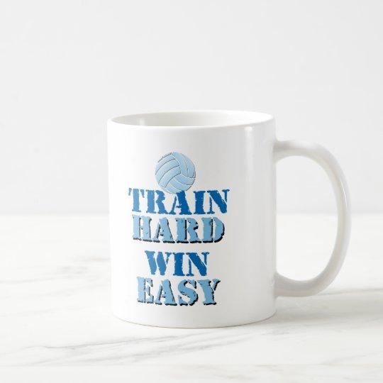 Train Hard, Win Easy - Volleyball Coffee Mug