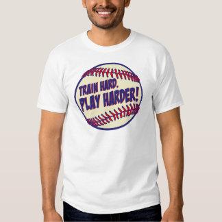 Train Harder, rwb.png T-shirt