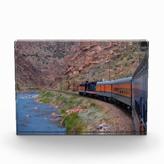 Train in a Canyon Copy Space Award