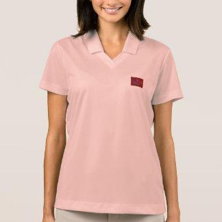 Train in Brown Polo T-shirt