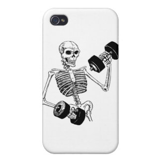 TRAIN INSANE BODYBUILDING LOGO COVERS FOR iPhone 4