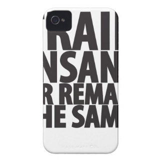 Train insane or remain the same iPhone 4 cases