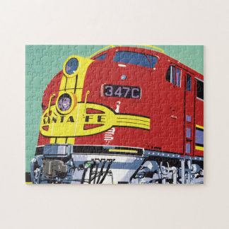 Train Jigsaw Puzzle