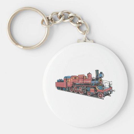 Train Key Chain
