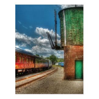 Train -  KITCHI GAMMI -  Pullman Postcard