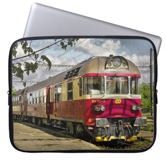 Train Laptop Sleeve