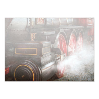 Train - Let off some steam Card