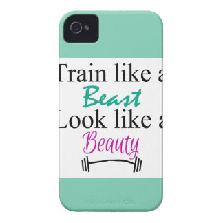 Train like a beast iPhone 4 case
