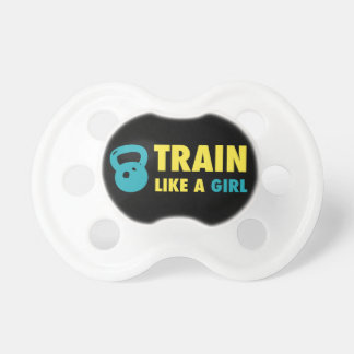 Train Like A Girl With Kettlebell Pacifier