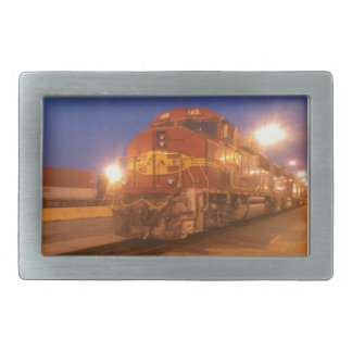 Train - Locomotive Belt Buckle