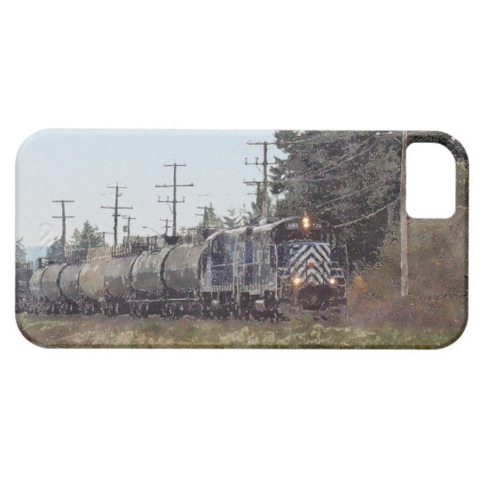 Train-lovers Freight Train Engine iPhone 5 Case