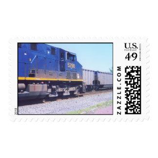 Train meet postage