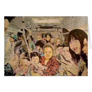 Train Millenieum Greeting Cards