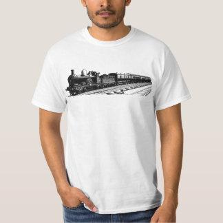 train modern vintage 2 tshirt