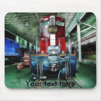 train mouse pad