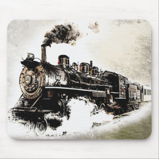 Train! Mouse Pads