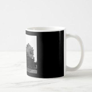TRAIN CLASSIC WHITE COFFEE MUG