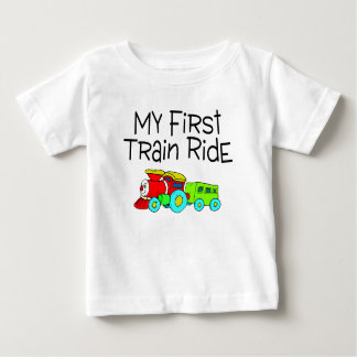 Train My First Train Ride Baby T-Shirt