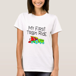 Train My First Train Ride T-Shirt