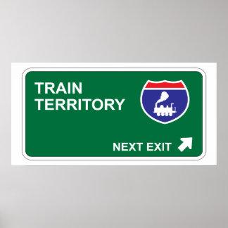 Train Next Exit Poster