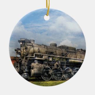 Train - Nickel Plate Road Ceramic Ornament