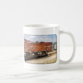 Train - Now Arriving in Roanoke Virginia Coffee Mug