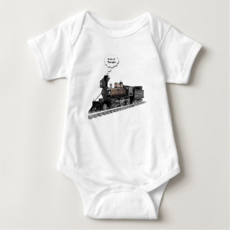 Train of Thought Baby Bodysuit