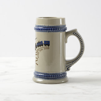 Train Of Thought Beer Stein