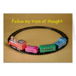 Train of Thought card