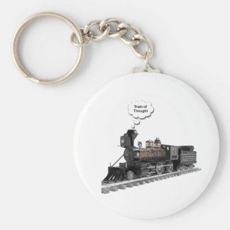 Train of Thought Keychain