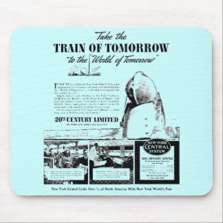 Train Of Tomorrow - New York Central Railroad Mousepad