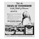 Train Of Tomorrow - New York Central Railroad Posters