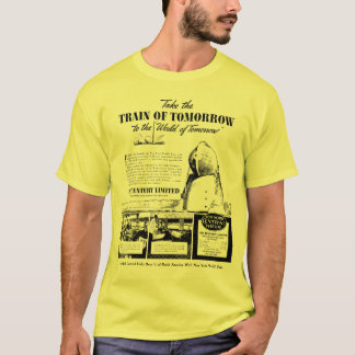Train Of Tomorrow  New York Central Railroad T-Shirt