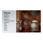 Train - Office - The ticket takers window Double-Sided Standard Business Cards (Pack Of 100)
