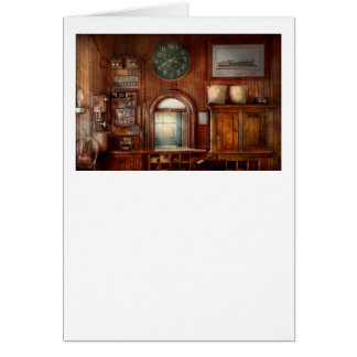 Train - Office - The ticket takers window Card