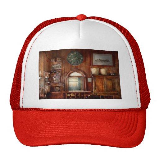 Train - Office - The ticket takers window Trucker Hat