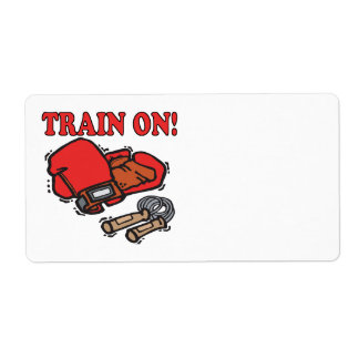 Train On Shipping Label