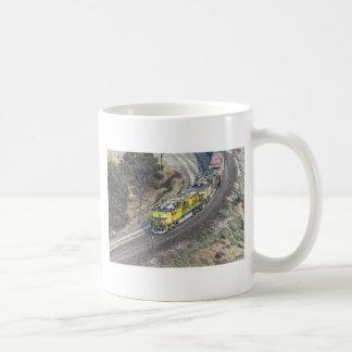 Train on the Tehachapi Loop Coffee Mug