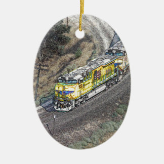 Train on the Tehachapi Loop Ornament