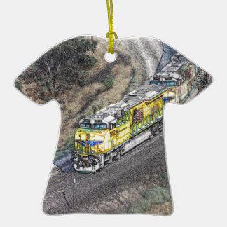 Train on the Tehachapi Loop Ornaments