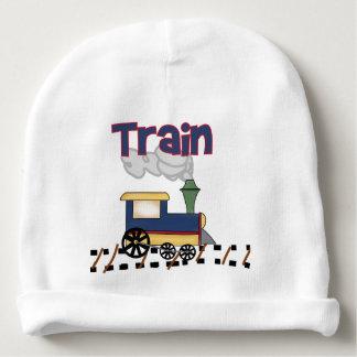 Train on Track Baby Beanie
