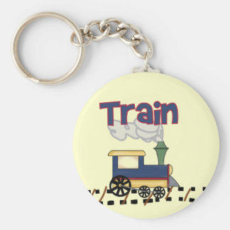 Train on Track Tshirts and Gifts Keychains