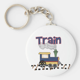 Train on Track Tshirts and Gifts Key Chain