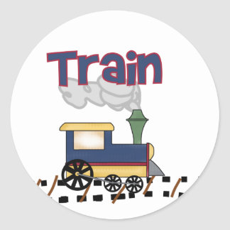 Train on Track Tshirts and Gifts Stickers