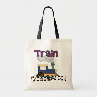 Train on Track Tshirts and Gifts Tote Bag